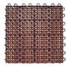 This item: FSC-Certified Eucalyptus Diagonal Slats Deck Tiles, Set of Ten