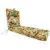 This item: Beachcrest Poppy 22 x 72 Inches Universal Lounge Cushion