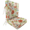 This item: Covert Stripe Breeze 22 x 24 Inches Two-Piece Deep Seat Chair Cushion
