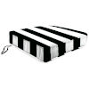 This item: Cabana Stripe Black Outdoor Boxed Edge Deep Seat Cushion