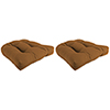 This item: Canvas Cork 18-Inch x 18-Inch x 4-Inch Outdoor Wicker Chair Cushions- Set of Two