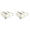 This item: Sailcloth Salt Rain 18-Inch x 18-Inch x 4-Inch Outdoor Wicker Chair Cushions- Set of Two