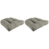 This item: Hybrid Smoke 18-Inch x 18-Inch x 4-Inch Outdoor Wicker Chair Cushions- Set of Two