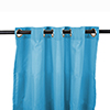 This item: Caribbean Blue 54-Inch Outdoor Curtain Panel
