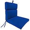 This item: Universal Canvas Pacific Blue Chair Cushion