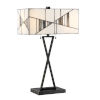 This item: Zellah Mosaic 25-Inch Two-Light Table Lamp