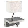 This item: Sandy White 10-Inch Two-Light LED Wall Sconce