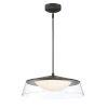 This item: Noor Walnut 18-Inch One-Light LED Pendant