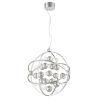 This item: Marilyn Chrome 24-Inch Six-Light LED Pendant