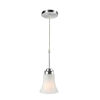 This item: Bendek Frosted Five-Inch One-Light Mini Pendant