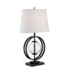This item: Herbert Black Clear 26-Inch One-Light Table Lamp