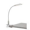 This item: Gordy Satin Nickel LED Clip-On Desk Lamp