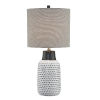 This item: Philan Gray 28-Inch One-Light Table Lamp