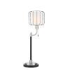 This item: Kaleria Black 31-Inch One-Light Table Lamp