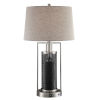 This item: Tobias Tan 30-Inch One-Light LED Table Lamp