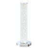This item: Quilla Chrome Diamond Acrylic LED Table Lamp