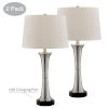This item: Gavino Brushed Nickel Two-Light Table Lamp, Set of Two