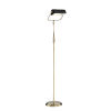 This item: Caileb Antique Brass 55-Inch One-Light LED Floor Lamp