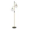 This item: Kaira Black Two-Light Floor Lamp