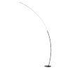 This item: Monita Black LED Arc Floor Lamp