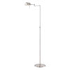 This item: Pharma Polished Steel 58-Inch One-Light Floor Lamp