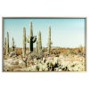 This item: Brown Blue and Green 47-Inch Saguaro Landscape
