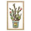 This item: Multicolor 12-Inch Cactus Collage I Landscape
