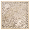 This item: Beige and Gold 24-Inch Intricacy II Wall Art