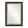 This item: Asriel Brown Black and Gold 32-Inch Mirror