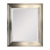 This item: Lareina Champagne Gold and Silver 30-Inch Lareina Mirror