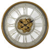 This item: Gold and Silver 32-Inch Gear Clock