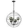 This item: Cristobal Oil Rubbed Bronze Six-Light Chandelier