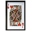 This item: Jack of Hearts Framed Wall Art