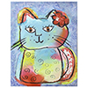 This item: Kitty Love Canvas