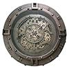 This item: Urban Loft Gears Wall Clock