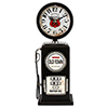 This item: Old Town Black Table Top Clock