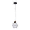 This item: Aharon Collation Dark Grey One-Light Mini Pendant