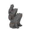 This item: Gray 9-Inch Ceramic Frog Figurine