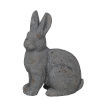 This item: Rusted Gray 6-Inch Ceramic Bunny Figurine