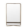This item: Dark Gold 27.5-Inch Wall Mirror