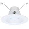 This item: Spektrum White Six-Inch LED Mesh Full Recessed Light