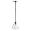 This item: Dianne Satin Nickel Eight-Inch One-Light Adjustable Mini Pendant