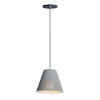 This item: Woven Gray and Black One-Light Mini Pendant