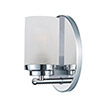 This item: Corona Polished Chrome Four-Inch One-Light Bath Sconce