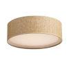 This item: Prime Grass cloth 16-Inch Three-Light LED Flush Mount