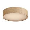 This item: Prime Grass cloth 20-Inch Five-Light LED Flush Mount