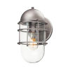 This item: Seaside Weathered Zinc One-Light Outdoor Wall Mount