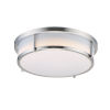 This item: Rogue Satin Nickel LED Flush Mount with Emergency Backup Title 24
