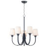 This item: Shelter Black Five-Light Chandelier