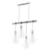 This item: Early Electric Weathered Zinc Five-Inch Four-Light 3.5W LED Mini Pendant